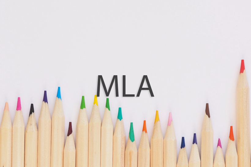 how to format a term paper mla
