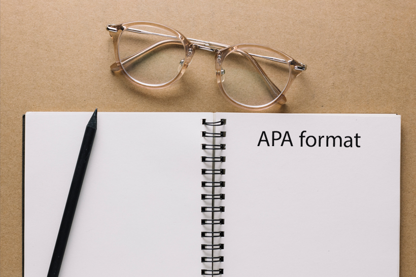 How to write term paper in APA format