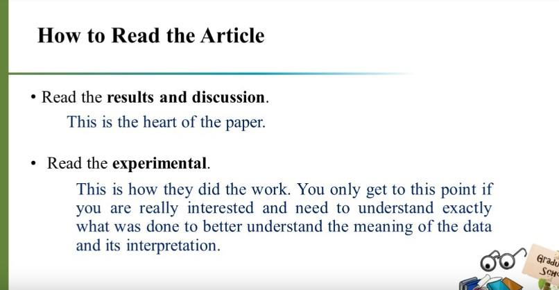 How to Read a Paper Efficiently 4
