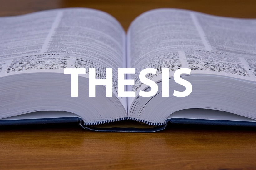 thesis in term paper